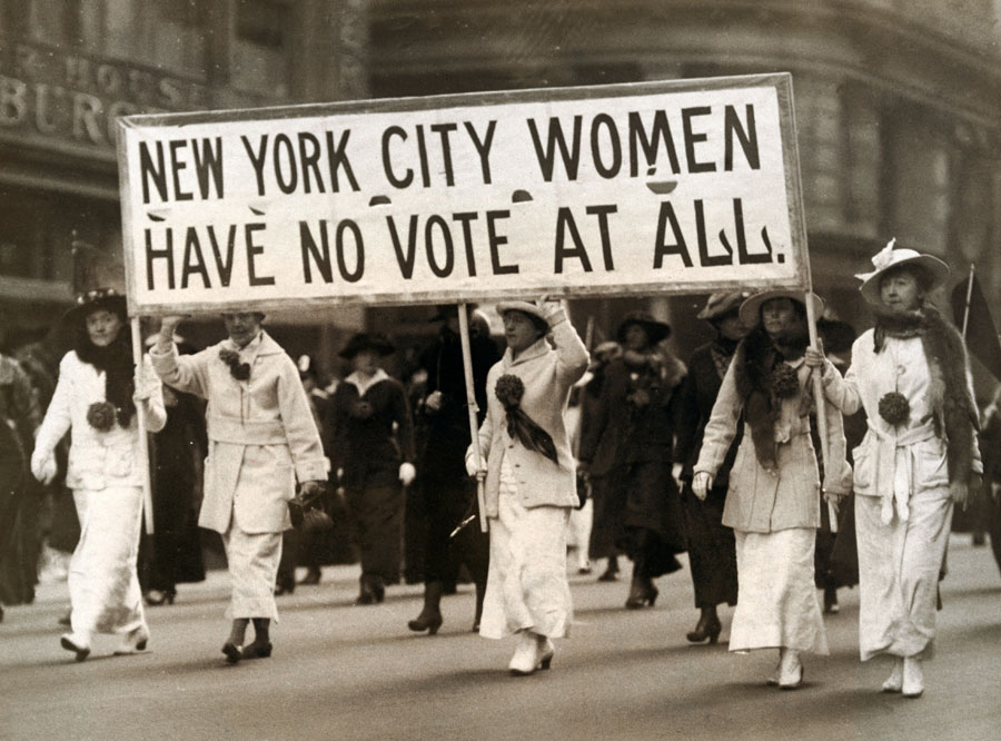 women attaining the right to vote The spirit of the women who fought for the right to vote was rooted in the revolutionary belief that women were not second class citizens, not inferior to men and.